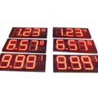 8'' 10'' 12'' 16'' 20'' Inch Led Gas Price Sign Aluminium Frame / Iron Cabinet Manufactures