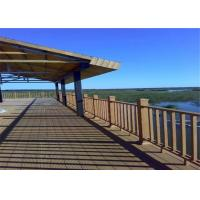 Wood  Plastic Composite Eco-friendly Low maintenance Decking Flooring Board Manufactures