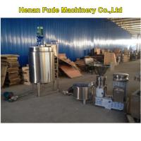 automatic peanut butter making machine, peanut butter machine with storage tank Manufactures