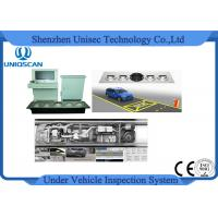 Fix Type UVSS Under Vehicle Inspection Surveillance Camera System For Hotel Prison Manufactures