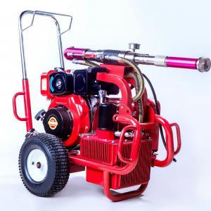 Diesel Engine Electric Paint Sprayer Airless Sprayer Piston Pump 250 Bar 13.5 Lpm Manufactures