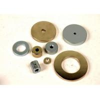 Quality Ring Round Shaped SmCo Magnets With Hole 1.05 Relative Permeability for sale
