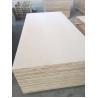 1220*2440mm Cabinet grade White Birch Plywood , Poplar/Eucalyptus Core for sale