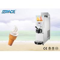 Single Flavor Soft Serve Freezer With Food Grade Stainless Steel Beater Manufactures