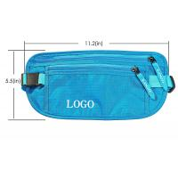 China 11.2*5.5 Inch  RFID Travel Bags / Adjustable Bicycle Workout Waist Pack on sale