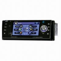 4.3-inch 1 Din Car CD Player with Touch Screen/GPS/Radio/RDS/TV/Bluetooth/Detachable/5% Freight Save Manufactures