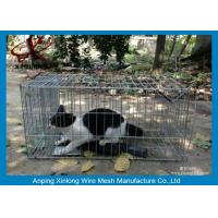 China Galvanized / PVC Coated Welded Wire Mesh Fence For Animal Cages Various Length on sale