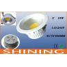 Buy cheap 10 Watt ROHS COB LED Downlight , 90 CRI 5000K Under Cabinet Lighting from wholesalers