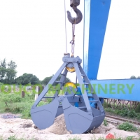 Buy cheap Durable Clamshell Mechanical Crane Grab Bucket from wholesalers