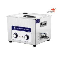 Knob 360W Mechanical Ultrasonic Cleaner Bath 15L For Glue Glass Bottle JP-060 Manufactures