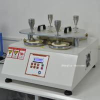 Martindale Abrasion Textile Testing Equipment / Pilling Tester Machine For Testing The Wearing Resistance Manufactures