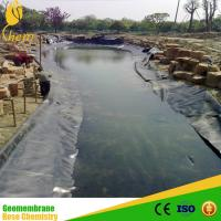 China HDPE pond liner 1mm on sale