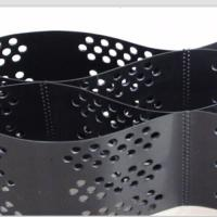 Smooth Surface HDPE Geocell 100mm Height  Black Color With Hole Manufactures