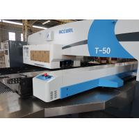 50 ton CNC Turret Punching Machine With Stainless Steel Table Manufactures