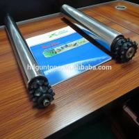 China Material Handling Adjustable Roller Conveyor With Double Sprockets on sale