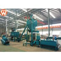 Customized Chicken Feed Production Equipment , Individual Cattle Feed Processing Plant Manufactures
