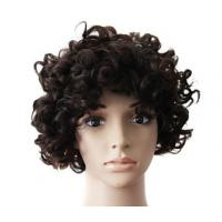 Mixed Color 100% Peruvian Glueless Full Lace Human Hair Wig With Combs / Straps for sale