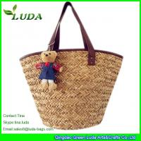 LUDA Natural Straw Handbags Seagrass Straw Bags Manufactures