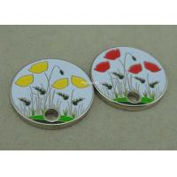 Promotional Iron Stamped Trolley Coin Lock Customized Token Zinc Alloy Manufactures