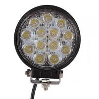 2 PCS 39W 2500lm Round Flood Epistar Work Light  Fog Driving Lamp Truck Tractor SUV 9 LED Manufactures