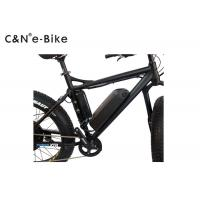 Lithium Battery Powered Off Road Fat Tire Electric Mountain Bikes With TFT Display Manufactures