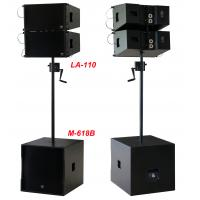 380W Line Array Speaker , With 2x1+10 Neodymium Drivers For Living Event , DJ , Party And Installation