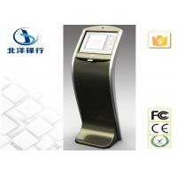 Customized Free Standing Advertising Self Service Banking Kiosk With Web Camera Manufactures