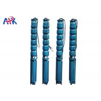 China Stainless Steel Deep Well Submersible Pump 250m 300m Bore Water Head ISO9001 on sale