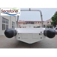 Hypalon  850cm Rigid Hulled Inflatable Boat Bottom Stainless Steel Protection Manufactures