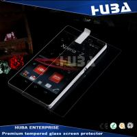 9H Curved Sony Screen Protector Flat Tempered Glass UV Protection For Z3 Manufactures