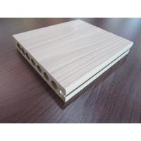 Hollow Co-extrusion WPC Composite Decking Tiles Rotproof for Garden Manufactures