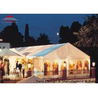 White Aluminum Frame Big Structure Retail Tent for Weekend Fairs Manufactures