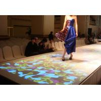 Interactive Floor System for Advertising , Wedding Decoration , 3D Mapping Projection Manufactures