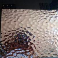 Stainless Steel  Hammered  Sheet 304 316 grade Embossed Pattern 1219*2438mm Size Manufactures