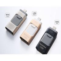 16gb 32gb OTG USB Flash Disk / Dual Usb Flash Drive For Iphone And Android Manufactures