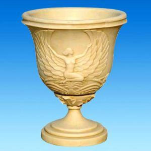Decoration Cast Iron Garden Urns Planters Metal Material For Villa Garden Manufactures