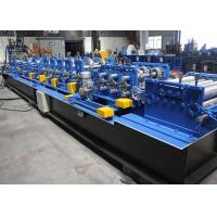 Galvanized Steel C Z Purlin Roll Forming Machine 1.5 - 3.0mm Feeding Thickness Manufactures
