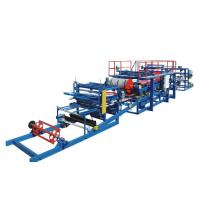 China EPS Sandwich Panel Production Line PU / Foam Coated For Different Colors on sale