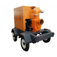 Diesel Engine Driven Water Pumps , Self Priming Irrigation Pumps For Farms Manufactures