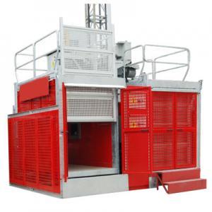 Industrial Passenger Construction Material Hoist Elevator 2 Ton 0 ~ 60m/min Manufactures