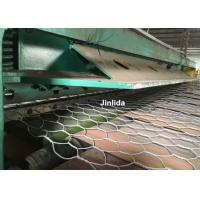Hydraulic Stainless Steel Wire Mesh Cutting Machine / GabionProductionLine Manufactures