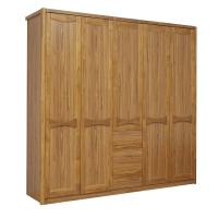 Quality Open doors cloth armoire by wood panel with Sock and tie tray inside drawer for sale