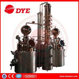 66 Gal Industrial Copper Distillery Equipment Vodka Copper Alcohol Distiller Manufactures