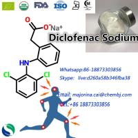 Diclofenac Sodium for Painkillers rheumatoid arthritis relieved uterine smooth muscle excited White Powder 15307-79-6 Manufactures