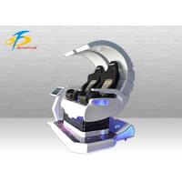 360 Degrees Rotating 9D VR Simulator With Metal / Fiberglass / Leather Material Manufactures