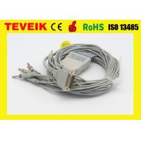 China Arrow One piece 5 leads ECG cable with clip with cheaper price on sale