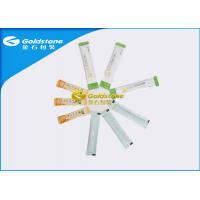 Colourful Printing Roll Material Stick Packaging Sachets With Easy Tear Line Manufactures