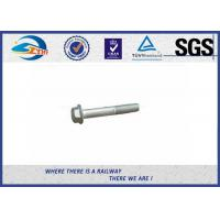 DIN931 / 933 Hot Dip Galvanized Railway Bolt 8.8 Grade 45# Steel Manufactures