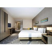 Modern King Size Hotel Bedroom Furniture Modern Appearance Commercial Use Manufactures