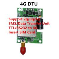 China 2g 3g gprs gsm modem 4g PCB module  rs232 ttl 4g lte dtu gsm transceiver support tcp/ip on sale